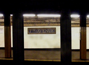 7th Ave Downtown Platform